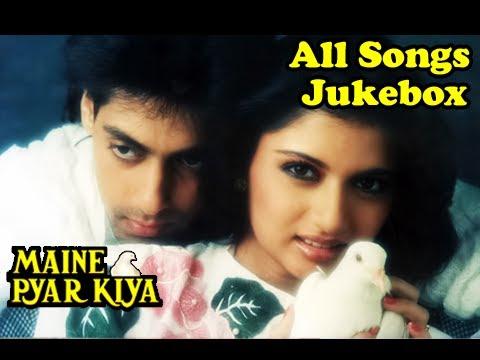 Maine Pyar Kiya - All Songs Jukebox - Salman Khan & Bhagyashree - Old Hindi Songs - Evergreen Hits