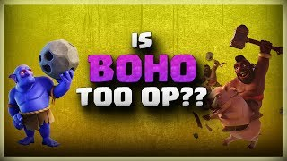 Is BOHO too OP?? | TH11 War Strategy #212 | After MARCH Update | COC 2018 |