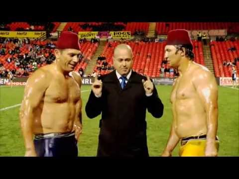 FLETCH AND HINDY TURKISH OIL WRESTLING
