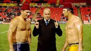 FLETCH AND HINDY - TURKISH OIL WRESTLING