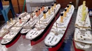 Ocean Liner Model (Titanic, Olympic, Britannic...)