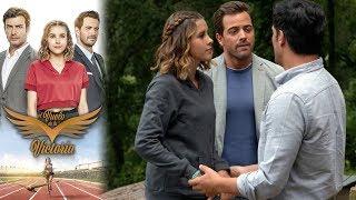 Raúl vuelve a sentir celos de Andrés | El vuelo de la victoria - Televisa