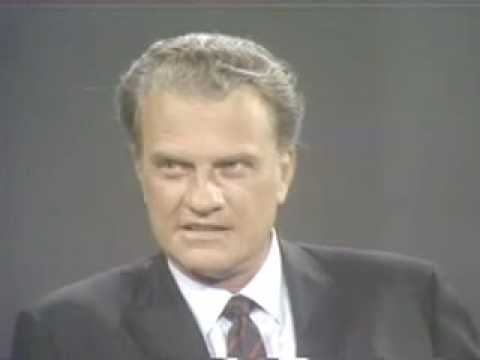 William Buckley interviews Billy Graham on the decline of Christianity on Firing Line 1969