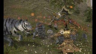 Dynasty Warriors 9 - Best Lu Bu Build - IMMORTAL LU BU IS THE STRONGEST UNIT IN THE GAME