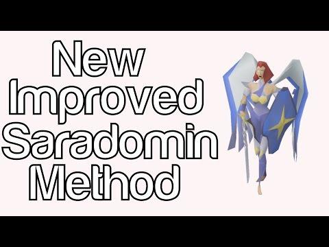 New and Improved Saradomin GWD Method | SoTD Tanking