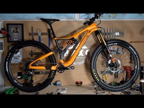 Unboxing the 2018 MyO custom Orbea Rallon