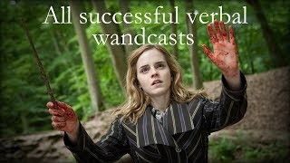 All Verbal Spells (successfully wand-casted ones, that is) [REMADE] - Harry Potter 1-8