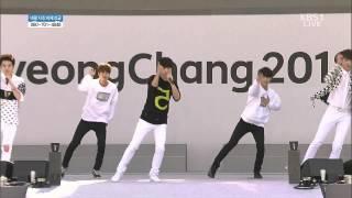 [FULL HD] 150516 INFINITE F  - Hearthrob  [KBS Pyeongchang Winter Olympics Games G 1000 ]