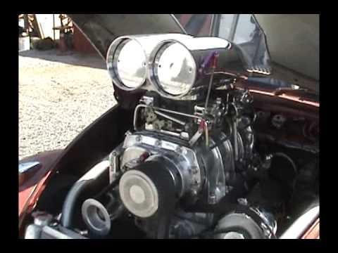 Blown V8 1969 Volkswagen Beetle Pro Street Part I