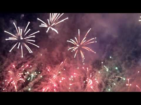 Calgary Stampede 2016 Fireworks
