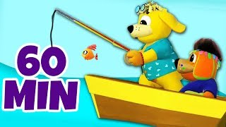 Row Row Row Your Boat Nursery Rhymes Party Songs | Kids Songs To Dance To | Raggs TV