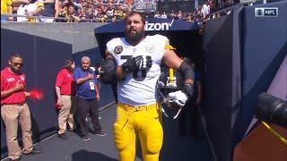 NFL Player and Army Vet Alejandro Villanueva Stood Alone During National Anthem