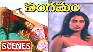 Sangamam Movie Scenes || Silk Smitha, Abhilasha, Nandu Superb Glamour Scenes