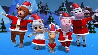 Santa finger family | nursery rhymes | kids songs | baby rhymes | finger family