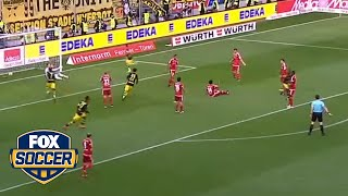 Christian Pulisic saves the day for Borussia Dortmund