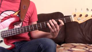 Weapon of choice - Fatboy slim - Bass cover