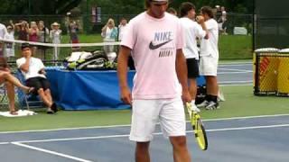 Rafa Nadal's Warm Up Routine