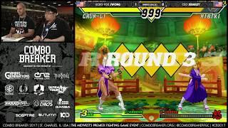 Combo Breaker 2017 - Capcom vs SNK 2 Top 8 Finals