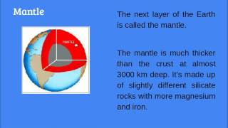 The internal structure of the earth 1