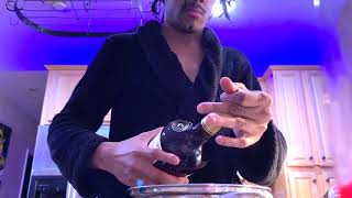 ASMR- Pouring Out A Bottle Of Hennessy Just Because (STRESS RELIEVING)