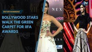 Bollywood stars walk the green carpet for IIFA awards