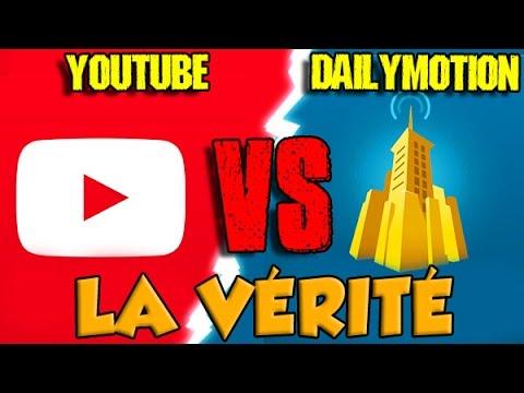 YOUTUBE VS DAILYMOTION : LA VÉRITÉ