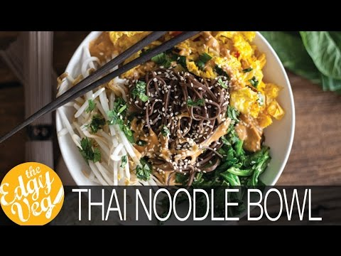 Xxx Mp4 Easy Vegan Gluten Free Dinner Thai Noodle Bowl Recipe Collab W Hot For Food The Edgy Veg 3gp Sex