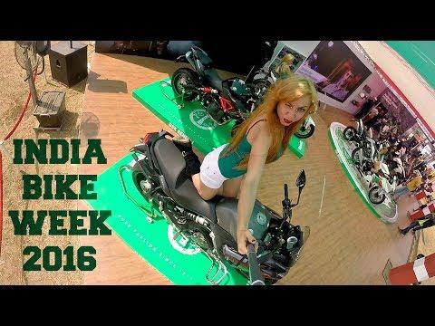 India Bike Week (IBW) 2016 | Bikes and Babes at Goa|Feat CS Santosh , Dougie Lampkin
