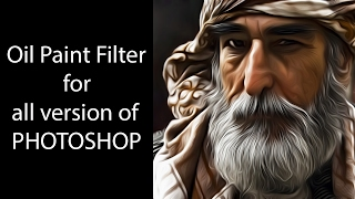 Oil Paint filter for all version of photoshop