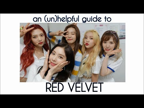 an unhelpful guide to red velvet 2018