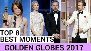 Top 8 Best Moments of The Golden Globes 2017! (VIDEO)