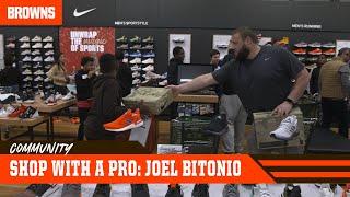 Joel Bitonio Continues Shop w/ a Pro Annual Event | Browns Community