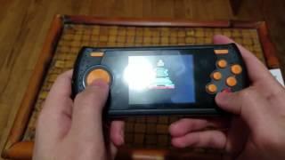 جهاز اتاري محمول العاب اتاري على Atari Flashback Portable