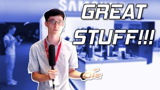 Giant Monitors, Note 8 & Gear Smartwatches - Samsung At IFA 2017