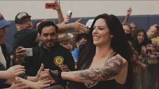 Celeste Bonin Vlog #13. My Come-back match! Some Q&A and developments in my new clothing collection!