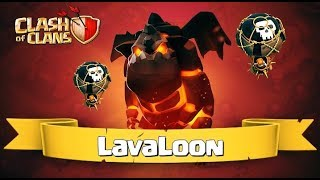 coc_lava loon Attack strategy for th12_th11_th10_th9_in war league 2019