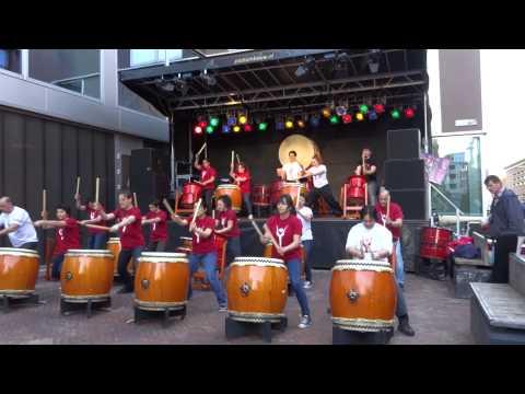 Yamato Taiko School - Amsterdam - AUN