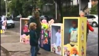 Muñecos Vivos en la calle Bromas#1