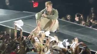HD Justin Bieber - PURPOSE [PARIS BERCY] Purpose Tour 2016