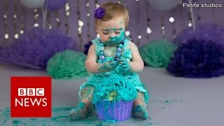 Cake smash: Parents who spend £800 on their child