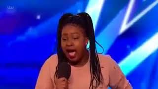 15-year-old girl sings the hardest song in the world-got talent