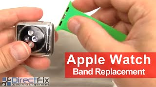 How to Apple Watch Band Replacement Instructions in 1 Minute