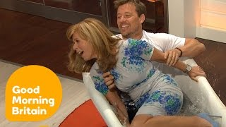 Ben Shephard DRAGS Kate Garraway Into an ICE BATH! | Good Morning Britain