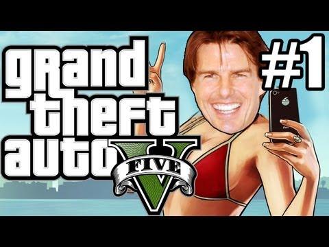 GTA 5 (Grand Theft Auto 5) Gameplay - FREE HUGS!