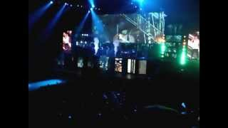 justin bieber o2 dublin 2013  never say nevernowhere but up acapella alot of screaming girls