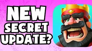 NEW SECRET UPDATE IN Clash Royale? Clash Royale CLAN WARS / CLAN PERKS SPECIAL EVENT CHALLENGE TALK
