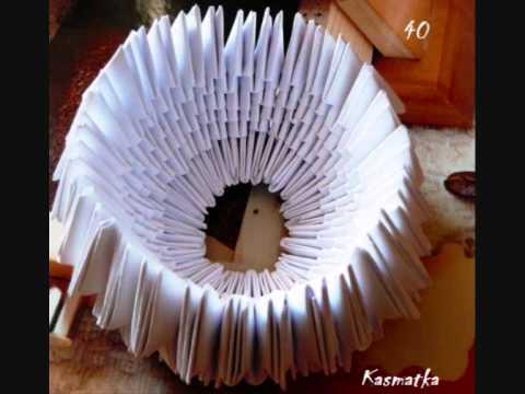 Kurs origami krok po kroku na przykładzie łabędzia swan tutorial Kasmatka