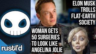 Woman gets 50 surgeries to look like Angelina Jolie #Rustld