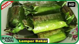 Cara Membuat Lemper Bakar Isi Daging Ayam Resep Jajanan Indonesia Recipes Indonesia Bunda Airini