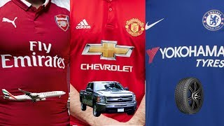 Premier League Kit Sponsors 2017/18 | What Do They Do?